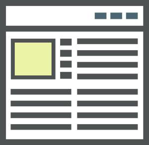 niche site content structure image